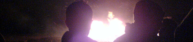 Up close at the Scouts Bonfire