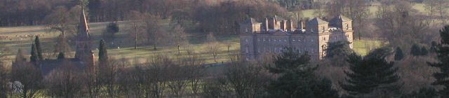 Hagley Hall from The Monument