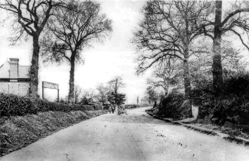 Worcester Road about 1910